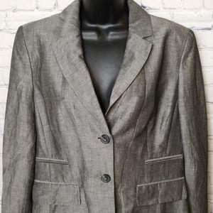 NWT Ann Taylor Loft  Linen blazer